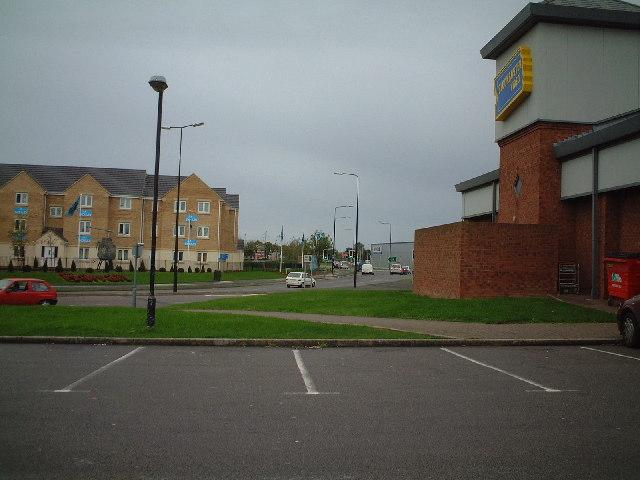 Retail Park & housing