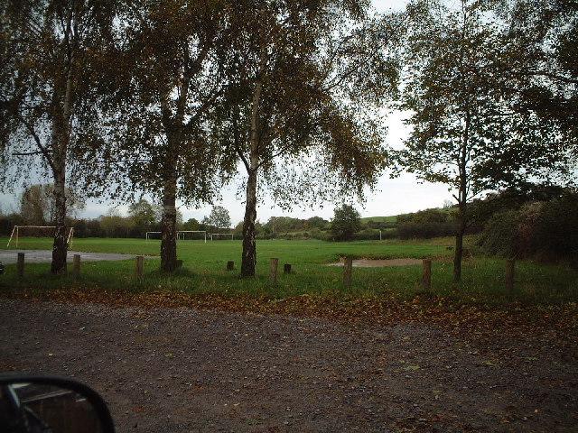 Football Ground in Hutton Village