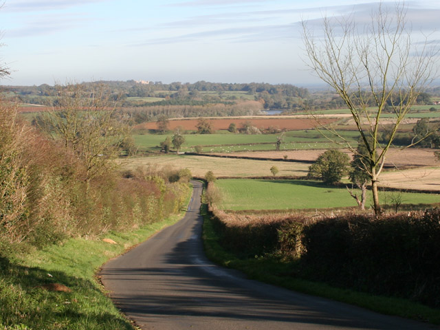 Lings Hill near Branston, November 2005