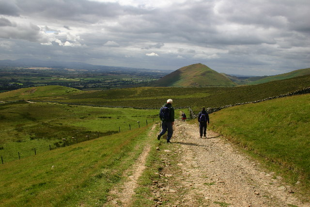 The Pennine Way towards Dufton