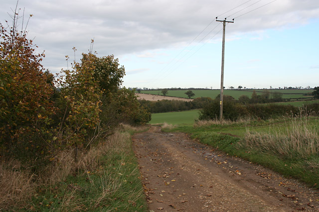 Track, near Saxby, Leicestershire