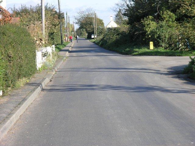 Roman Road near Bradwell on Sea