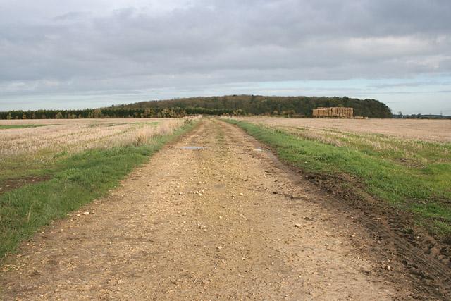 Farm track near Garthorpe