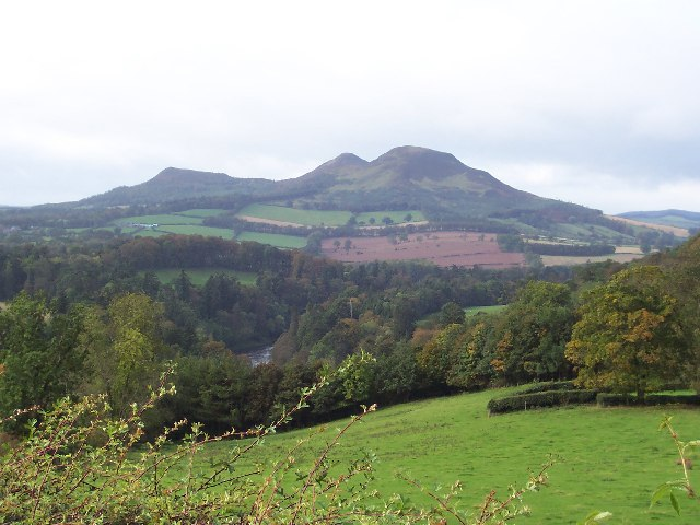 Scotts View of the Eildon Hills