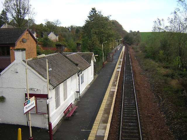 Thorntonhall Railway Station