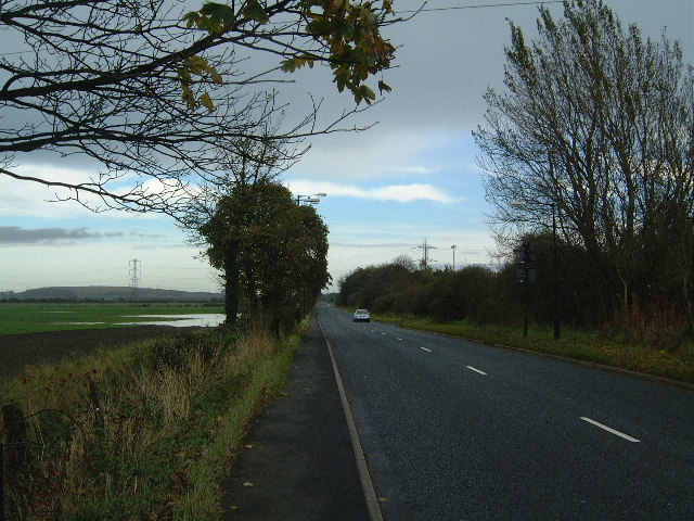 A1290 road outside Sulgrave