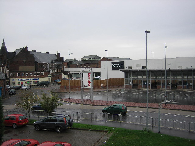 Longton bus station from the railway station
