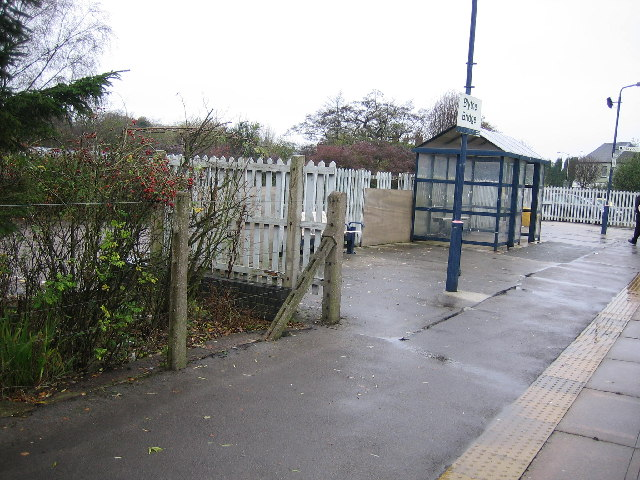 Blythe Bridge railway station