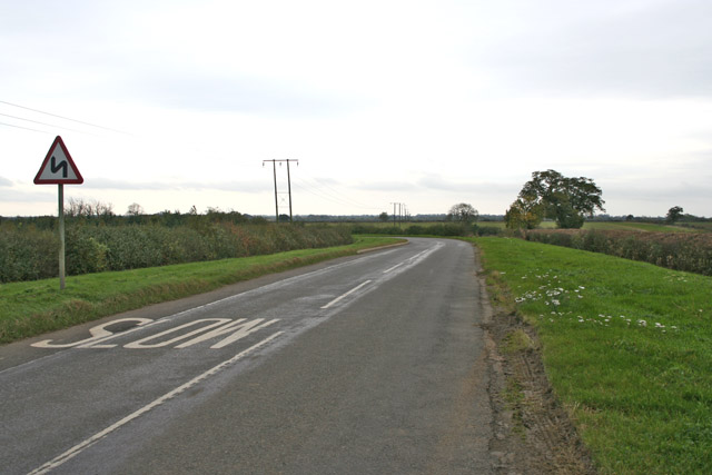 Country road near Sewstern