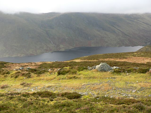 Hillside overlooking Loch Turret