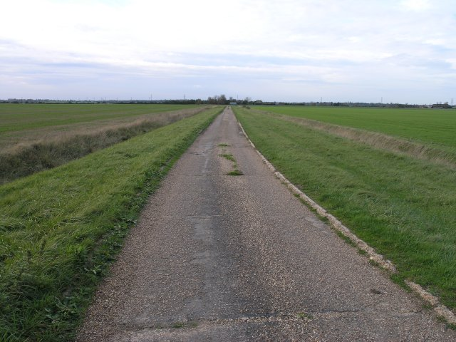 Lane on Bradwell Marshes
