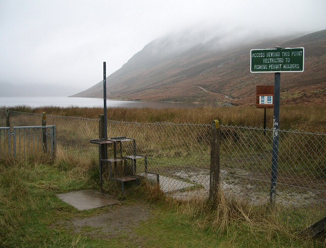Stile at Loch Turret