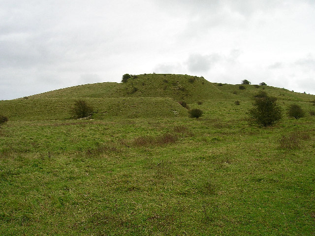 Iron Age earthworks, Wolstonbury Hill