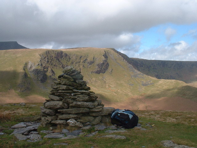 Bannerdale Crags from Cairn on Souther Fell
