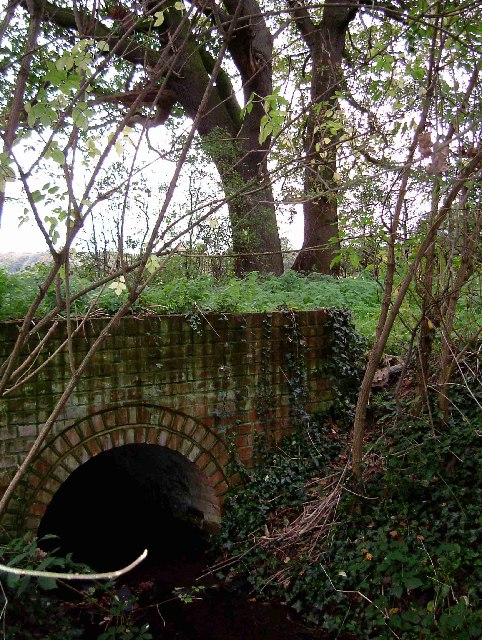 Bridle Path & Stream near Ramsden Back Common