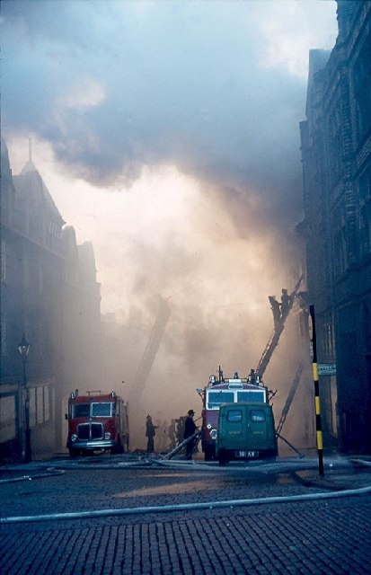 Barry Street Fire, Bradford, November 1963