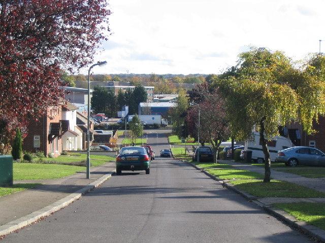 Hill View Road in Basingstoke