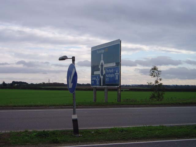Approach to M11 Junction 11