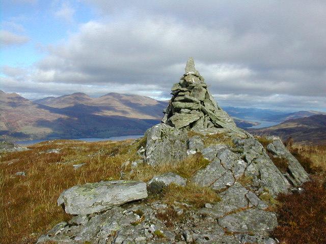 View from Beinn Leabhainn