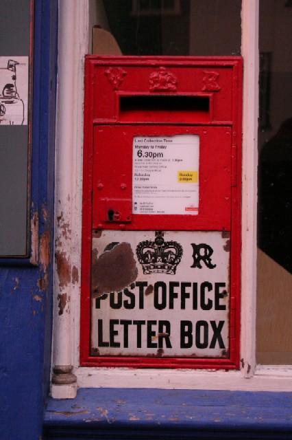 Victorian Postbox, Upper Saint Giles Street