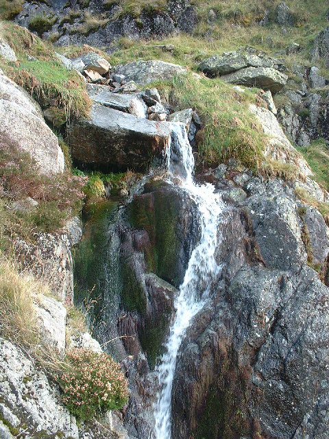 Waterfall Elliptical Crag Pillar