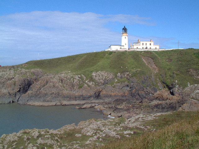 Lighthouse on Black Head, Wigtonshire