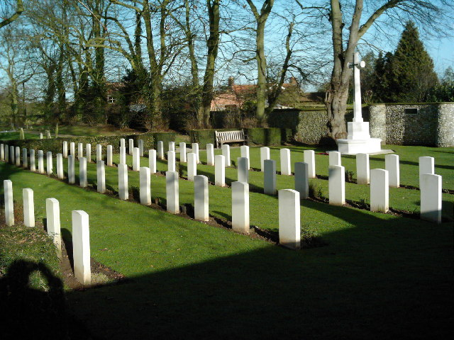 War Graves Plot at Great Bircham (St Mary's) Church