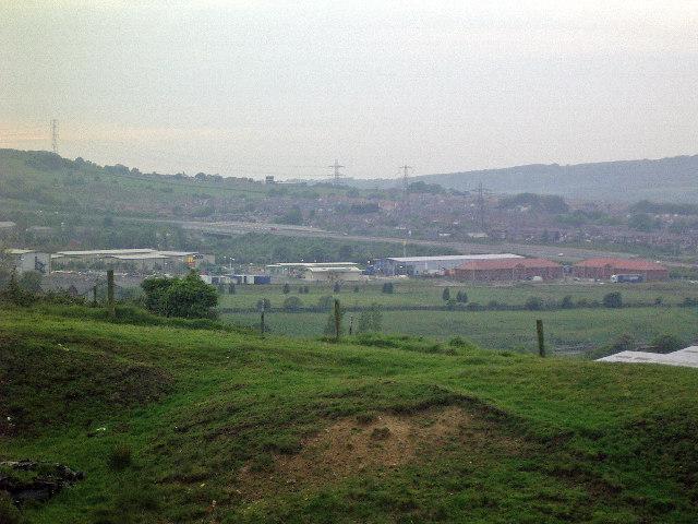 Proposed Polyphemus Woodland Trust planting area