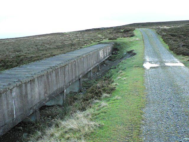 Aqueduct and track