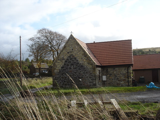 Converted farm Buildings near Torphichen Bathgate Hills