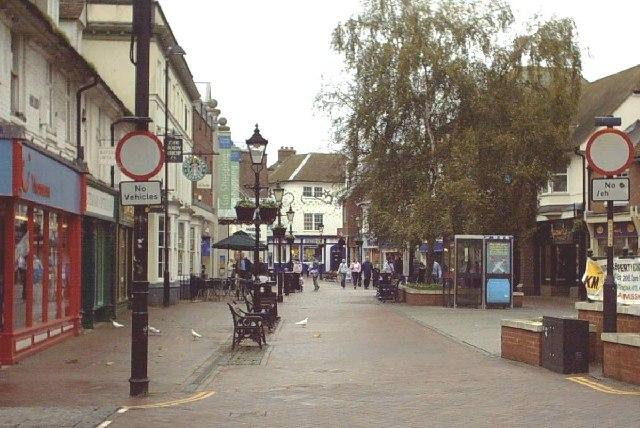 Ashford Town Centre - Upper High Street