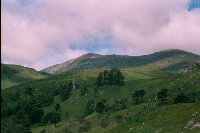 Looking Towards Coire Peitireach