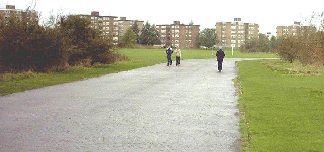 Bailey's Field Flats, Ashford