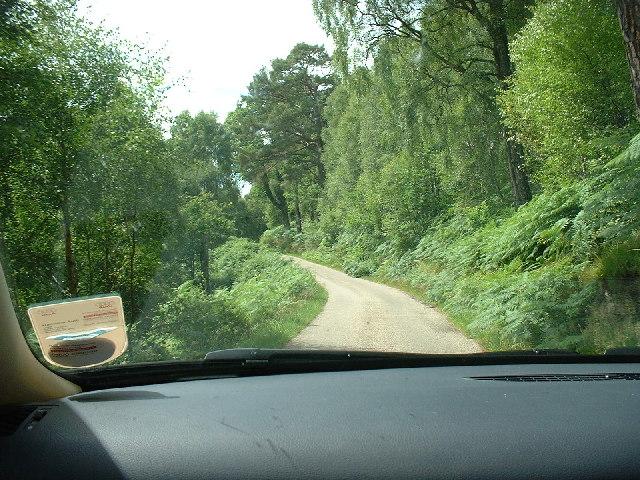 Road In Glen Garry