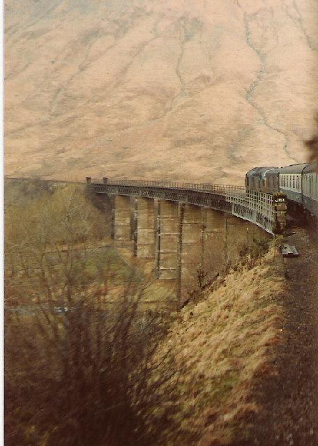 Train Crossing Glen Coralan