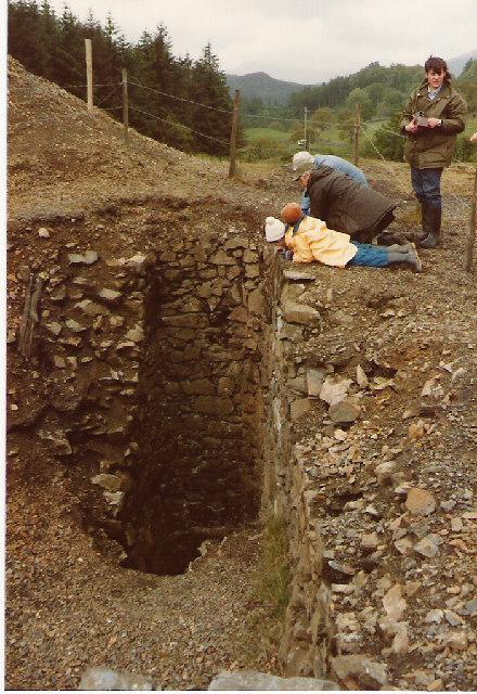 Cyffty Lead Mine, Main Shaft