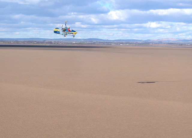 Another view of Sands of the Solway Estuary, Cumbria