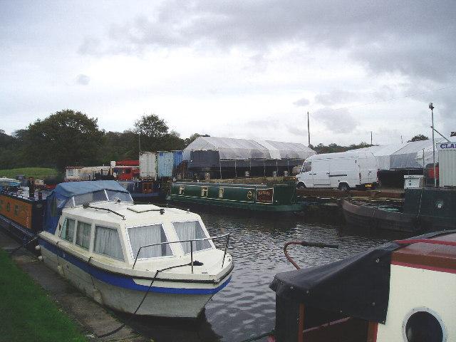 Wheelton boatyard