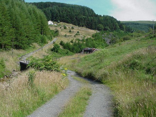 Bridge over the Nant Cregan