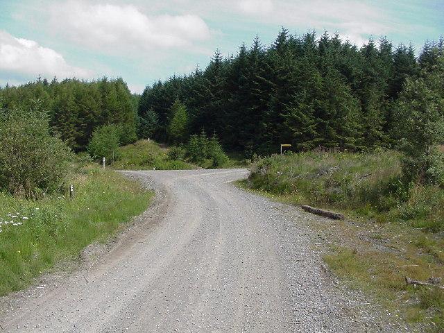 Near Carn Caglau