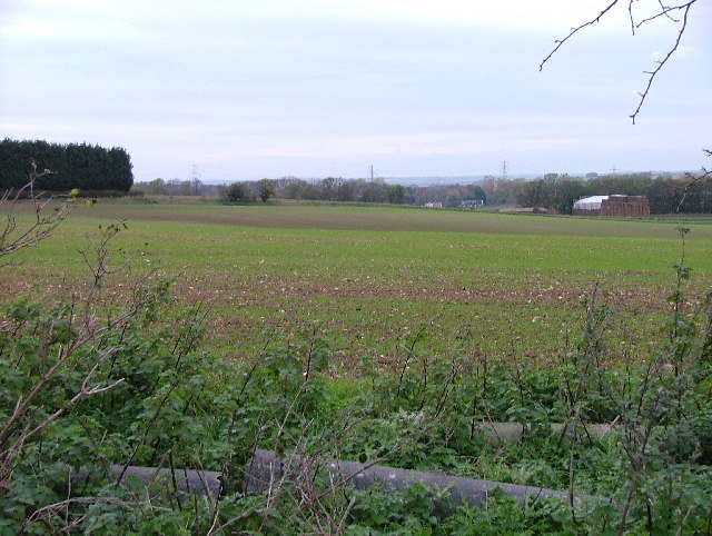 View from the Icknield Way Path towards Newnham