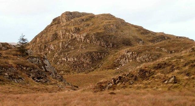 View to the north of Sron na Saobhaidhe, Argyll