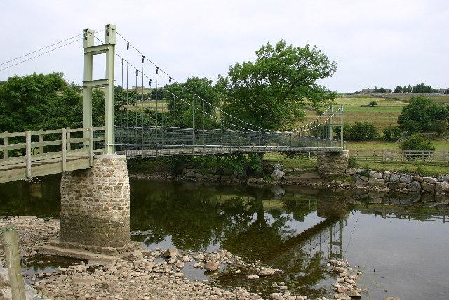 The Suspension Bridge, Reeth