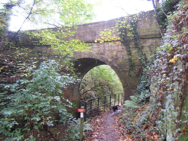 Bridge over Barnsley canal.