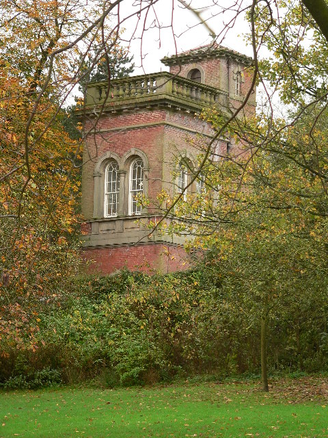 Aviary Tower, Moss Bank Park