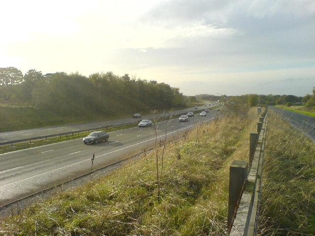 M56 between Broomedge and High Legh