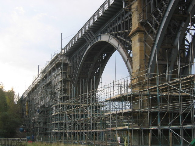 Railway Viaduct over Willington Gut