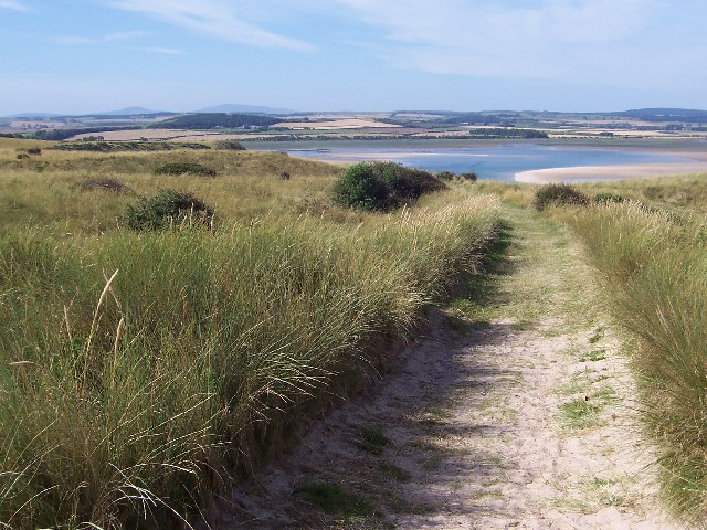 Looking West to Budle Bay