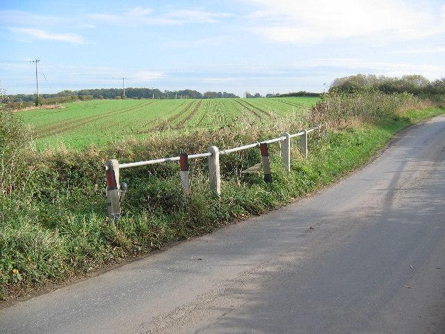 Road over Burshill & Barff drain