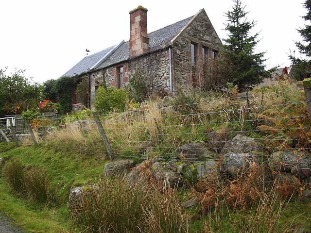 The Old School House In Strath Rusdale